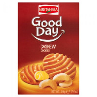 GOOD DAY CASHEW BISCUIT (family pack) 3packets inside.