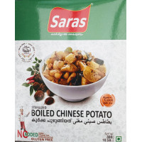 BOILED CHINESE POTATO ( Koorka)300gm(SARAS)