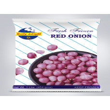 RED ONION 400gm (frozen)