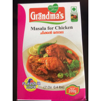 CHICKEN MASALA 200gm( Grandmas)