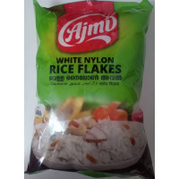 WHITE RICE FLAKES 400gm(Aval) (Ajmi)