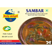 Sambar curry 454gm(frozen curry)(Daily delight)