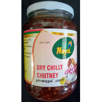 Dried chilli chutney 400gm(Mayil)