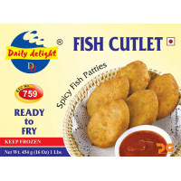 Fish cutlet 454gm(frozen) Ready to fry