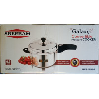 Pressure cooker stainless steel 6.5litre