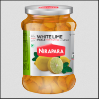 White lime pickle 400gm