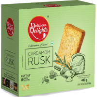 Cardamom rusk 400gm(Daily delight)